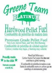 Greene Team Hardwood Pellets - Littleton NH