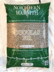 Northern Warmth Douglas Fir Pellets at Harris Energy